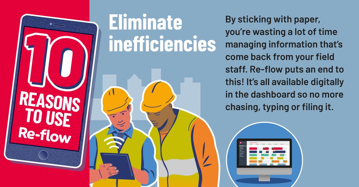 10 reasons eliminate inefficiencies