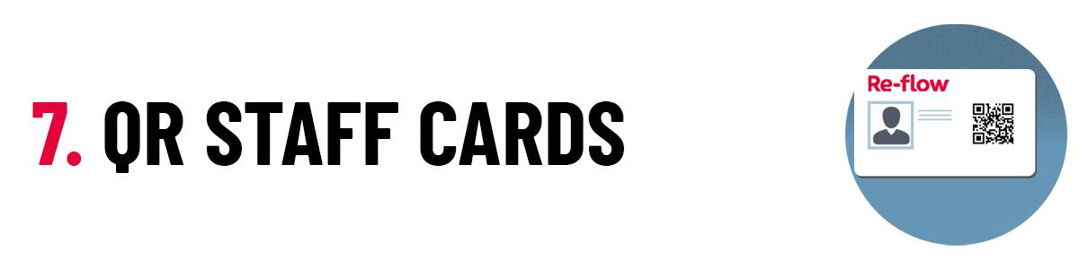 7 QR Staff Cards