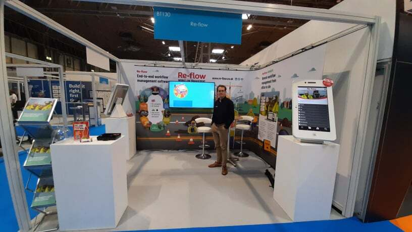 A big success for Re-flow at UK Construction Week 2021.