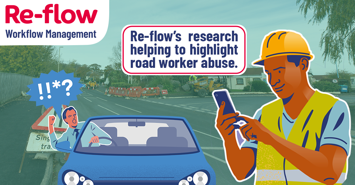 Research from Re-flow helps highlight Highway worker abuse.