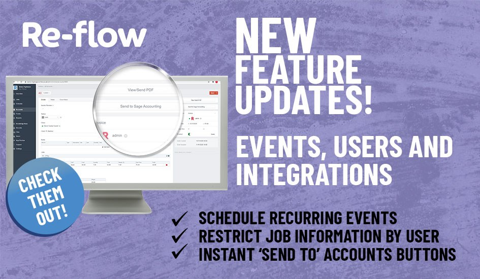 New Features- Events, Users and Integrations