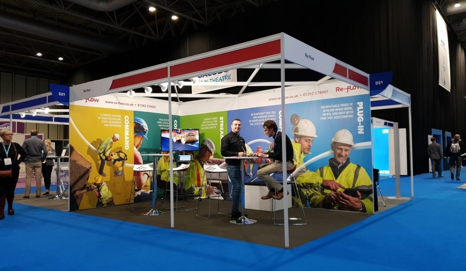 Re-flow stands out at Highways UK