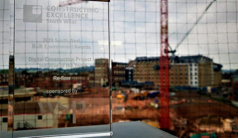 Re-flow WINS Construction award