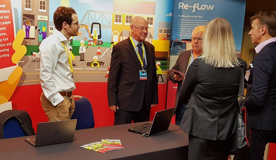 Re-flow at Roadmarking Live 2017