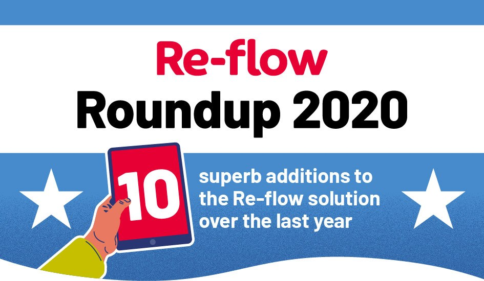 Re-flow Roundup of new features, 2020
