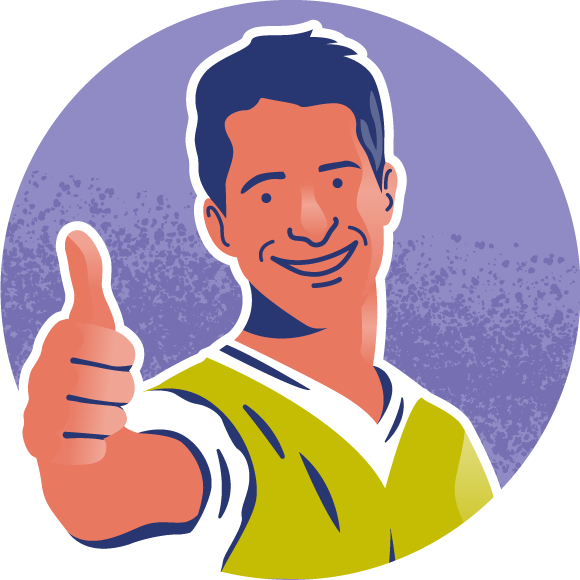 Workman Thumbs Up