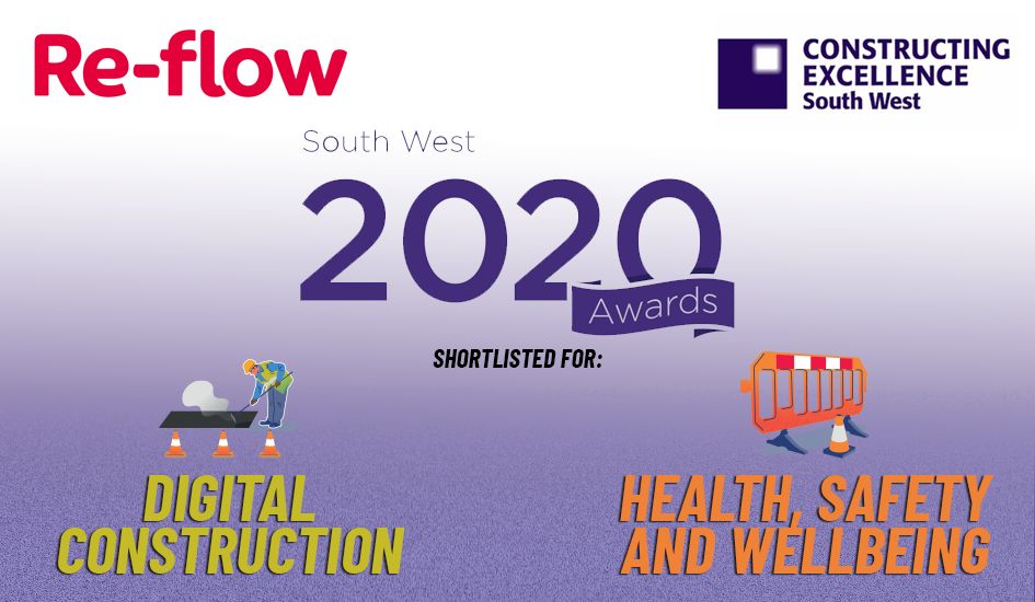 Re-flow shortlisted for two Built Environment Awards