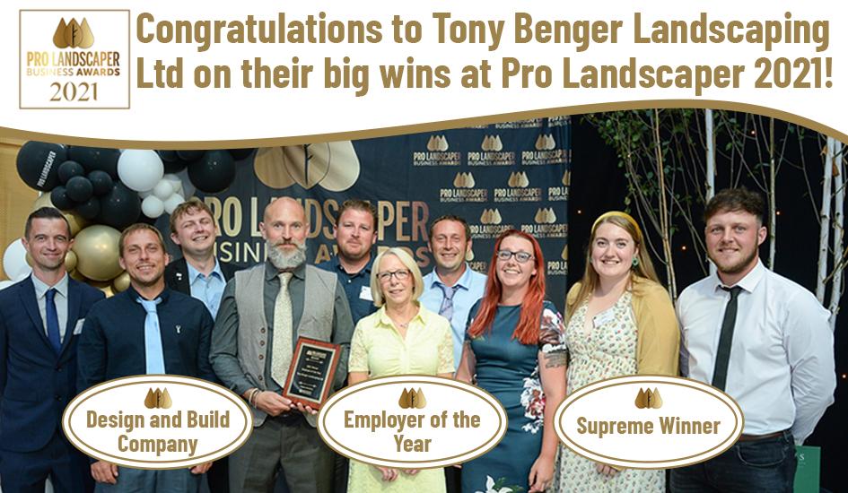 Congratulations Tony Benger!
